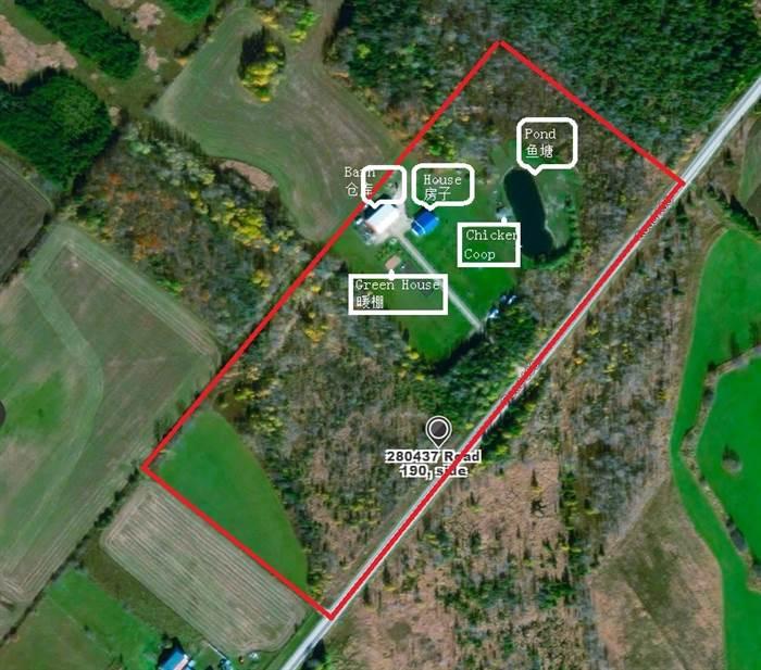 25英畝农场有房,湖,仓库,暖棚,果园,鸡舍